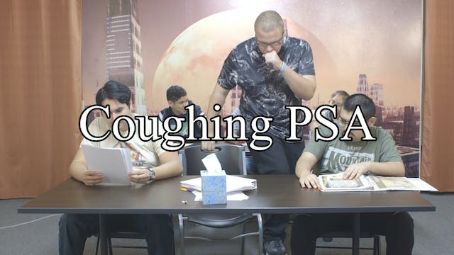 Coughing PSA