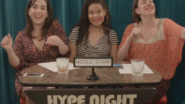 Let's HYPE Nicole Stamp!