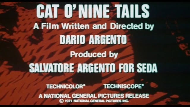 Cat o Nine Tails Teaser