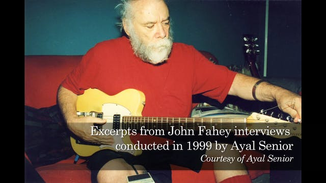 John Fahey on Collecting Records