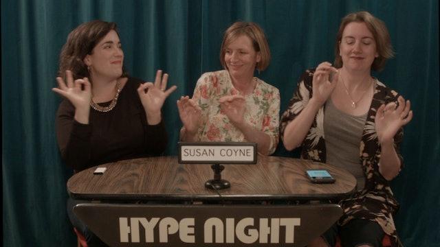 Let's HYPE Susan Coyne