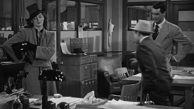 His Girl Friday - Clip