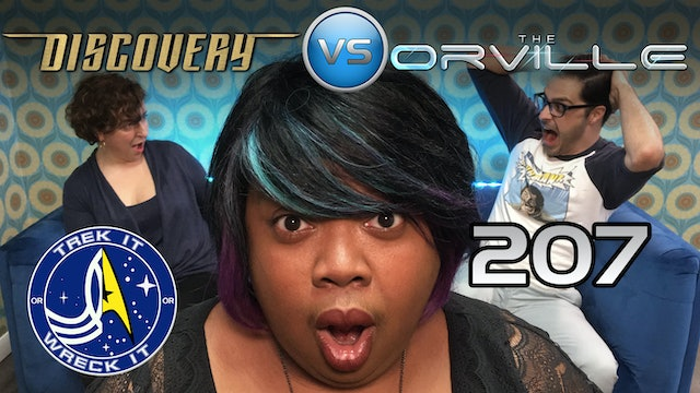 "207 ""Light and Shadows"" Star Trek Discovery vs. ""Identity Part 2"" The Orville"