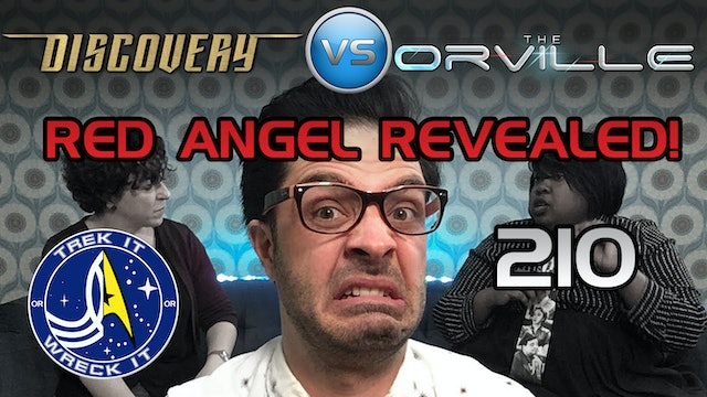 "210 ""The Red Angel"" Discovery vs. The Orville ""Lasting Impressions"""