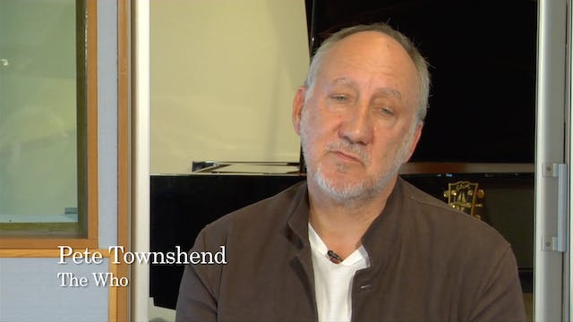 Extended Interview: Pete Townsend