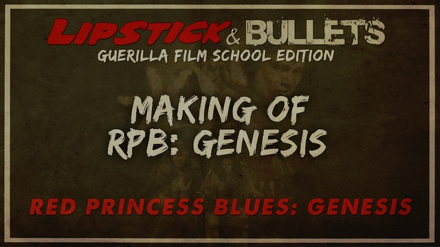 Red Princess Blues: Genesis - Making of the Anime Film