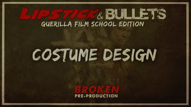 BROKEN - Pre-Production: Costume Design