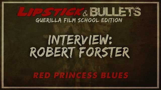 Red Princess Blues - Interview with Robert Forster