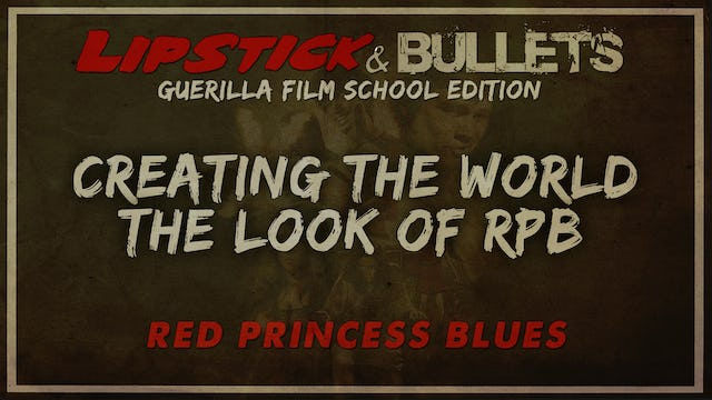 Red Princess Blues - Creating the Look