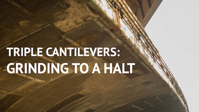 Triple Cantilevers Grinding to a Halt