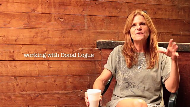 9 FULL MOONS on set interview with Dale Dickey.