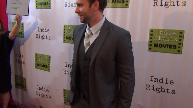 Bryan Kaplan arriving to Fray Movie Premiere