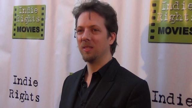 Geoff Ryan arriving to Fray Movie Premiere
