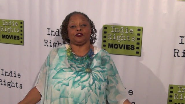 Reatha Grey from Betty White's Off Their Rockers arriving to Fray Movie Premiere