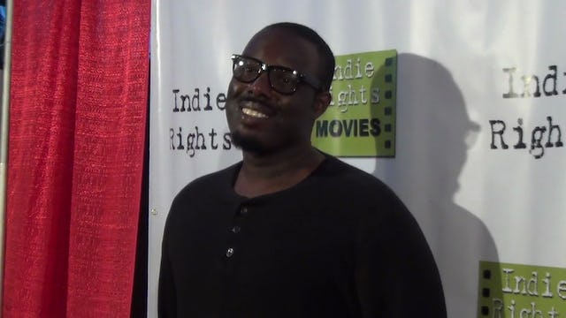 Senyo A. Walker from The Expendables arriving to Fray Movie Premiere