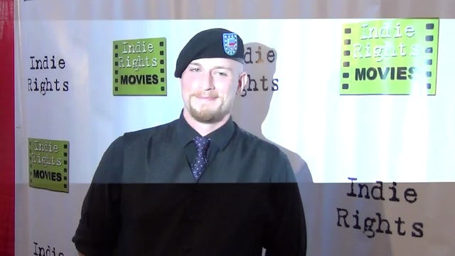 Neils Roley arriving to Fray Movie Premiere
