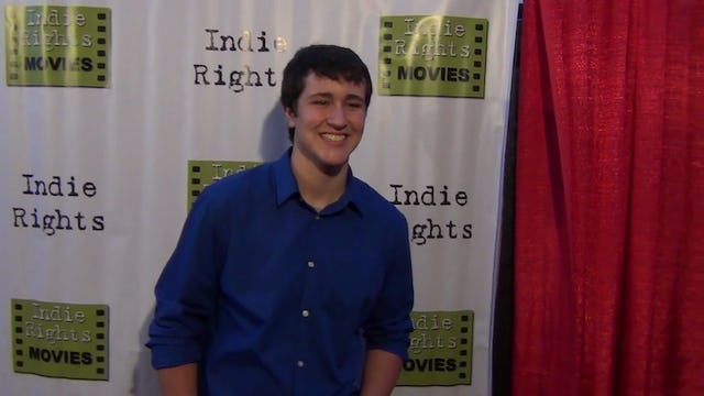 Noah Dahl from Buttwhistle arriving to Fray Movie Premiere