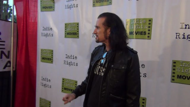 Bruce Kulick from KISS arriving to Fray Movie Premiere