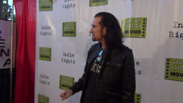 Bruce Kulick from KISS arriving to Fr...