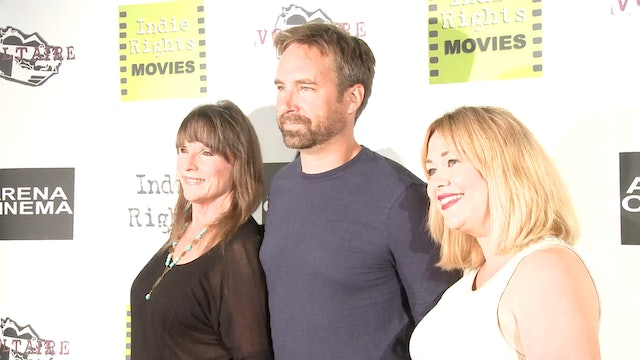 Linda Nelson, Michael Madison and Megan Freels at the Red Carpet for Radicalized Premiere.