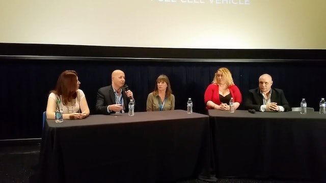 Downtown Film Festival Panel.