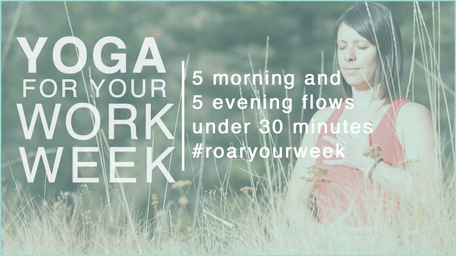 Yoga for your Work Week