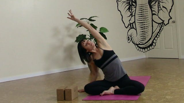 Release the Day - Yoga for your Work Week. 2 of 5 PM Practices