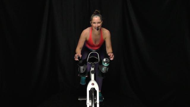 Heather Q. Cycle & Stretch 45