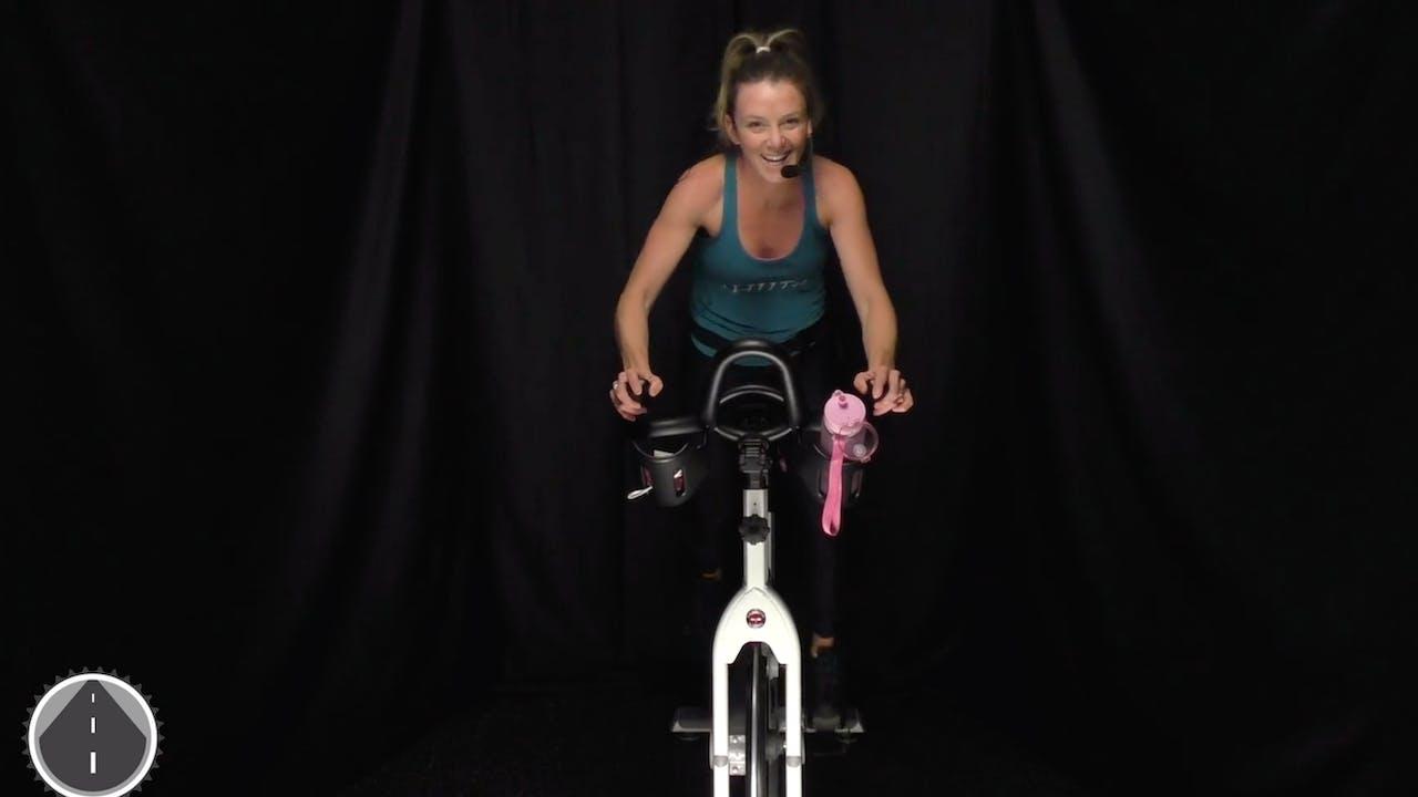 Heather M. HIIT Cycle 45