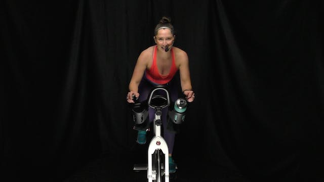 Heather Q. Cycle & Stretch 45