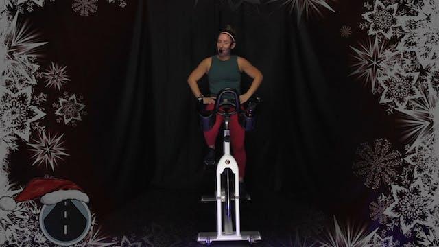 Lindsay's Holiday Sleigh Cycle 45