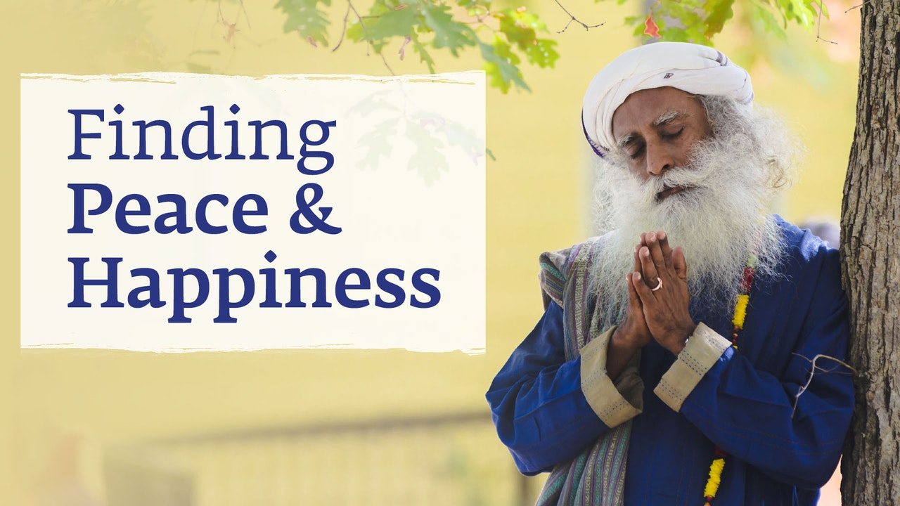 Finding Peace and Happiness