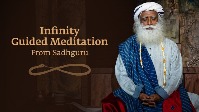 Free Infinity Guided Meditation From Sadhguru - 13 mins #MeditateWithSadhguru