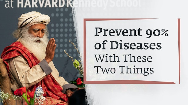 Prevent 90% of Diseases With These Two Things