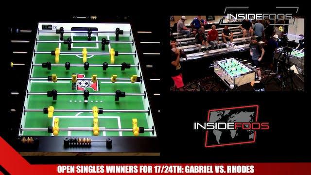 Open Singles Winners for 17/24th | Ka...