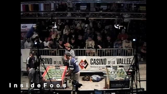 Jamal Allalou vs. Tim Ludwig   Men's Singles Semifinal