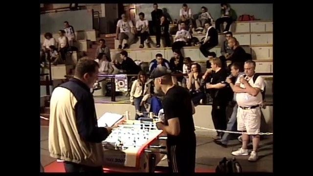 Arturo Carletta vs. Francois Cheuret | Open Singles Round 32