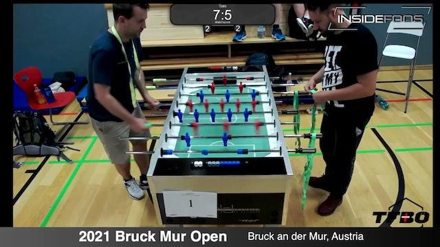 Benjamin Willfort vs. Bernhard Kraus | Open Singles for 3rd