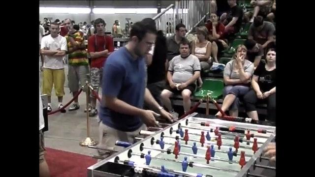 Billy Pappas vs. Markus Rosicky | Open Singles Semifinal