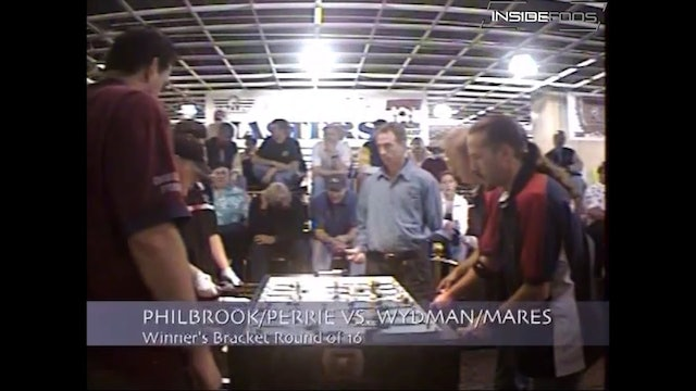 Rob Mares/ScottWydman vs. Mike Philbrook/Gregg Perrie | Open Doubles