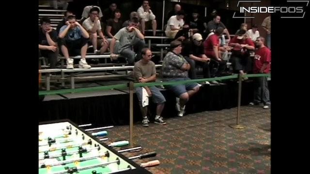 Gummeson/McMillin vs. Yore/Cartwright   Championship Doubles Semifinal