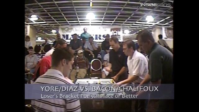 Tony Bacon/Don Chalifoux vs. Tom Yore/Bob Diaz | Open Doubles