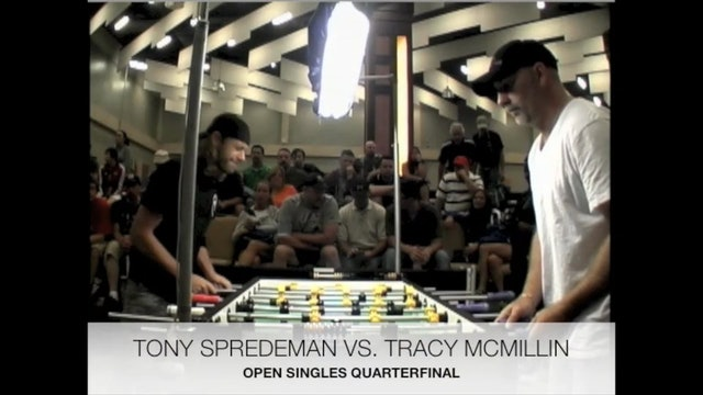 Tony Spredeman vs. Tracy McMillin | Open Singles Quarterfinal