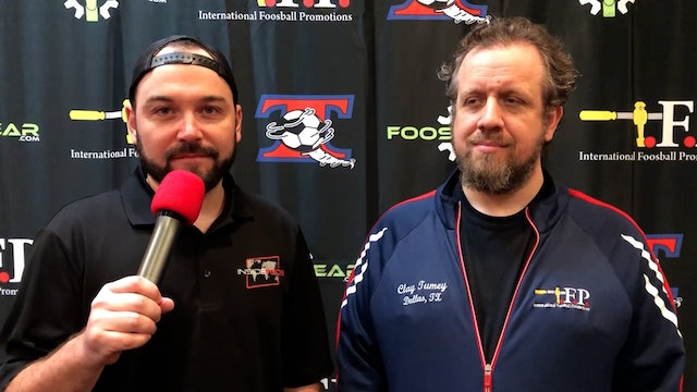 Interview with Clay Tumey at 2021 Tornado Championship