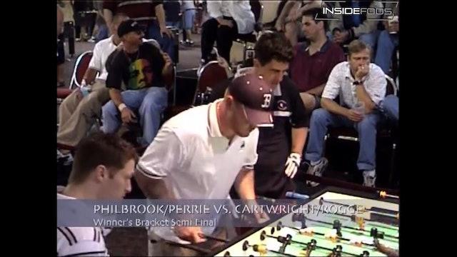 Mike Philbrook/Gregg Perrie vs. Louis Cartwright/Steve Rogge | Open Singles