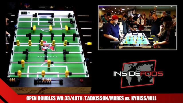 Open Doubles WB for 33/48th | T.Adkis...