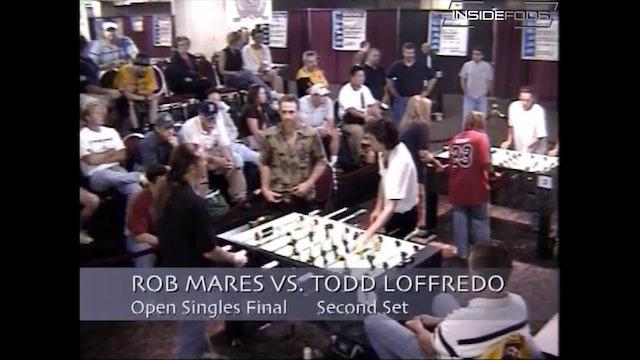 Rob Mares vs. Todd Loffredo | Second Set Open Singles Final