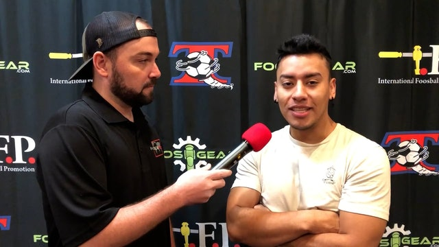Interview with Kevin Romero at 2021 Tornado Championships