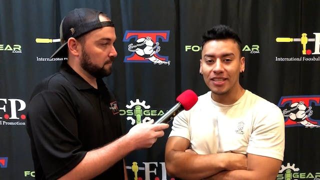 Interview with Kevin Romero at 2021 T...