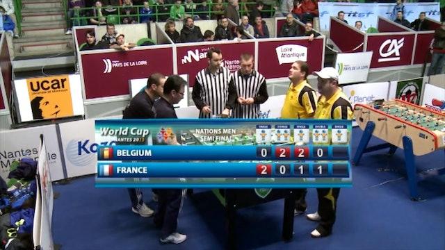 2013 Men's World Cup Semifinal: France vs. Belgium